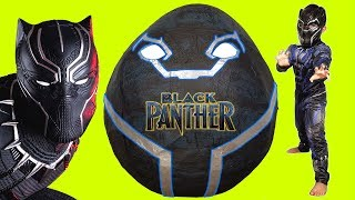 Download Black Panther Giant Toys Surprise Egg Video