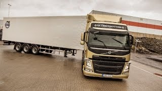 Download Volvo Trucks - Demonstration of the unique technology Volvo Dynamic Steering Video