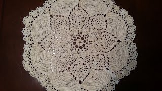 Download Crochet Doily - Dove Doily Part 1 Video