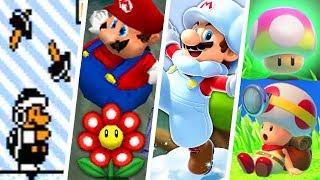 Download Evolution of Forgotten Super Mario Power-Ups (1988 - 2018) Video