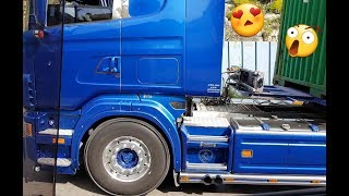 Download SCANIA V8 SOUND, CRAZY FROM GREECE!!! 🚛🏁🇬🇷🇬🇷 Video