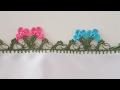 Download Tığ Oyası Dalda Çiçek Yapımı Video