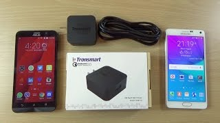 Download Tronsmart Qualcomm Quick Charge 2.0 Fast Charger - Review! Video