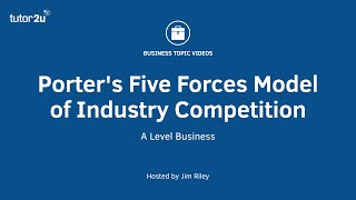 Download Porter's Five Forces Model of Industry Competition Video