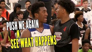 Download Kyree Walker & Jalen Green PUSH ME ONE MORE TIME AND SEE WHAT HAPPENS!! Video