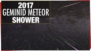 Download 2017 Geminid Meteor Shower Video