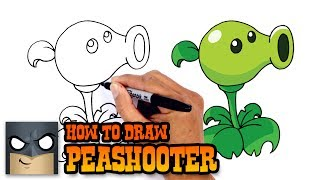 Download How to Draw Peashooter | Plants vs Zombies Video