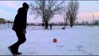 Download Зимний футбол. Winter Football Video