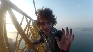 Download Best of Roofing || The world's craziest climber Video