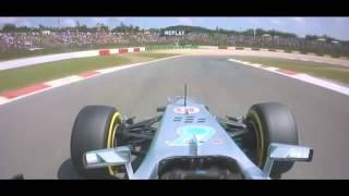 Download 2013 German GP Lewis Hamilton Pole Position Lap Onboard Video