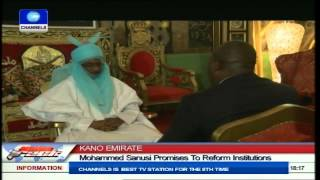 Download Kano Emirate: Mohammed Sanusi Promises To Reform Institutions Video