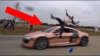 Download FLIPPING OVER SUPERCAR! *GONE VERY WRONG* Video