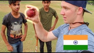 Download AMERICAN playing CRICKET in INDIA! Video
