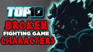 Download Top 10 BROKEN Fighting Game Characters Video