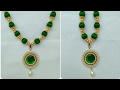Download How To Make Silk Thread Necklace | Party Wear | DIY | beginers | designs | easily Video