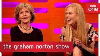 Download Jane Fonda's reunion with Robert Redford - The Graham Norton Show: 2017 - BBC One Video