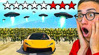 Download I TRIED TO ESCAPE A **8** STAR WANTED LEVEL in GTA 5! Video