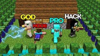 Download Minecraft Battle: NOOB vs PRO vs HACKER vs GOD: ZOMBIE APOCALYPSE CHALLENGE / Animation Video