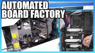 Download How Motherboards Are Made (2019) | Taiwan Automated Factory Tour, ft. Gigabyte Video