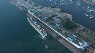 Download 日落啟德郵輪碼頭 Sunset at Kai Tak Cruise Terminal Video