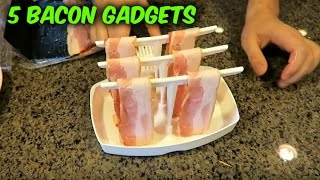 Download 5 Bacon Gadgets Put to the Test Video