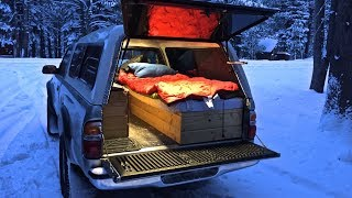 Download Truck Camping in Sub-Freezing Weather Video