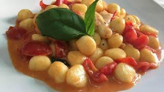 Download Ñoquis con Tomate fresco, Mozzarella y Albahaca Video