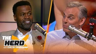 Download Westbrook would fit with Harden and Rockets, talks LeBron & Kawhi — Stephen Jackson | NBA | THE HERD Video