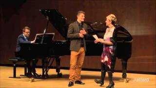 Download Joyce DiDonato Master Class, December 10, 2015: Jakub Józef Orliński & Michał Biel Video
