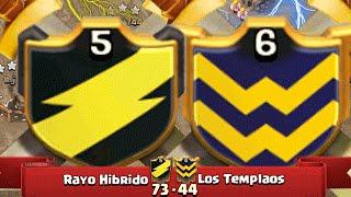 Download LA MEJOR GUERRA JAMÁS VISTA DE TH8'5 [CLANES HÍBRIDOS] - RAYO HÍBRIDO VS TEMPLOROS   CoC Best Wars Video