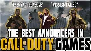 Download BEST ANNOUNCERS IN CALL OF DUTY GAMES! Video