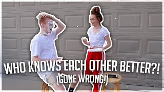 Download WHO KNOWS EACH OTHER BETTER? (GONE WRONG!) Video