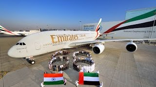Download Emirates employees share a special message for India 68th Republic Day Video
