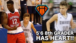 Download 5'6 8th Grader REFUSED To Back Down From Zion Williamson!! | Bryson Bishop Has HEART Video