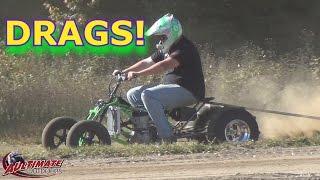Download BANSHEE'S VS 4 STROKES...DRAG RACING ADIRONDACK ATV RIDERS CLUB! Video