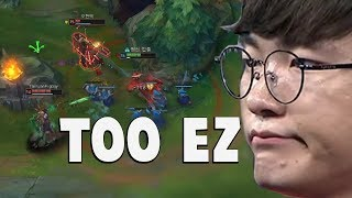 Download When Faker Does His ″Playmaker″ Moves Again... | Funny LoL Series #323 Video