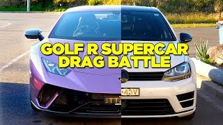 Download Racing A Lamborghini (In My Golf) Video