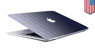 Download Apple patents solar powered MacBooks Video
