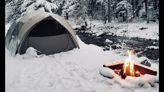 Download Winter Car Tent Camping in Snow - How To Stay Warm Video