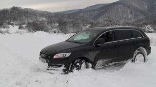 Download SickCrash 2 Intoarcere Audi Q7 cu Vredestein pe zapada mare in prahova SickCrash Video