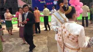 Download Traditional Laos Cultural Wedding Dance Video