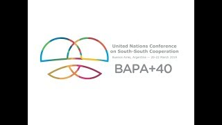 Download Opening of the High-level UN Conference on South-South Cooperation Video
