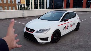 Download This SAVAGE Seat Leon Cupra HAS 420BHP and Spits FLAMES! Video
