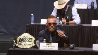 Download Conor McGregor introduces the UFC to 'red panty night' Video