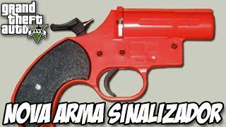 Download GTA V - Sinalizador FLARE GUN, ARMA NOVA DLC HEISTS Video