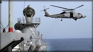 Download STAKES RAISED: IRANIAN VESSEL TARGETS US HELICOPTER OVER INTERNATIONAL WATERS Video