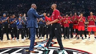 Download Kobe Bryant Tribute Before Final All-Star Game Video