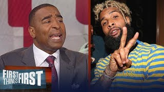 Download Cris Carter reveals two teams Odell Beckham Jr. is likely to leave Giants for | FIRST THINGS FIRST Video