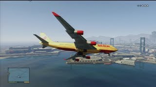 Download GTA 5 - How To Steal A Jumbo Jet Video