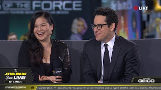 Download J.J. Abrams & Kelly Marie Tran At SWCC 2019 | The Star Wars Show Live! Video